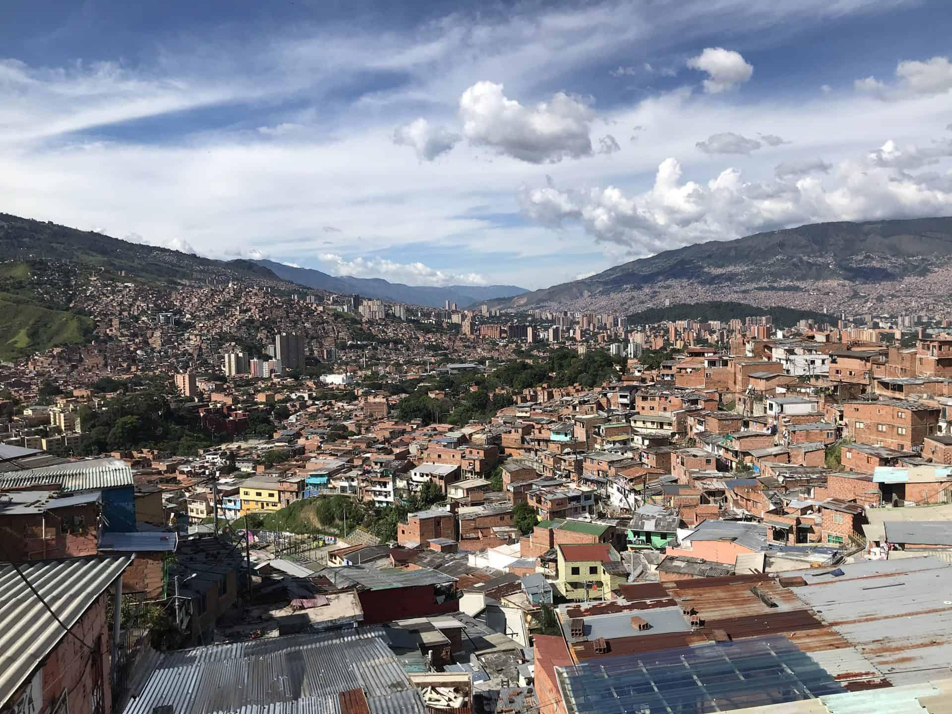 Medellin dall'alto