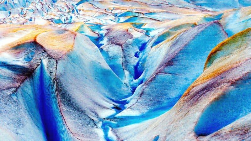 Mendenhall: la grotta di ghiaccio