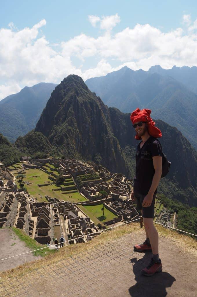 Machu Picchu dalla Casa del Guardiano