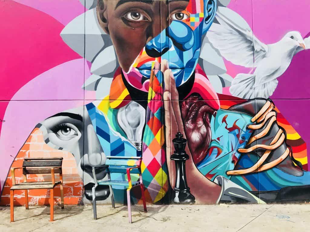 Graffiti alla Comuna 13