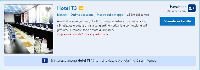 Hotel T3 Bishkek