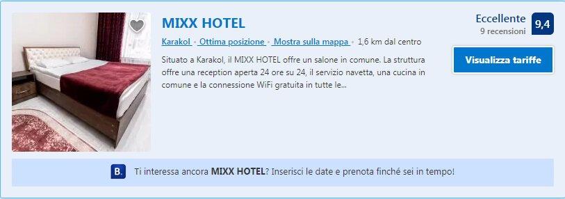 Mixx Hotel Karakol