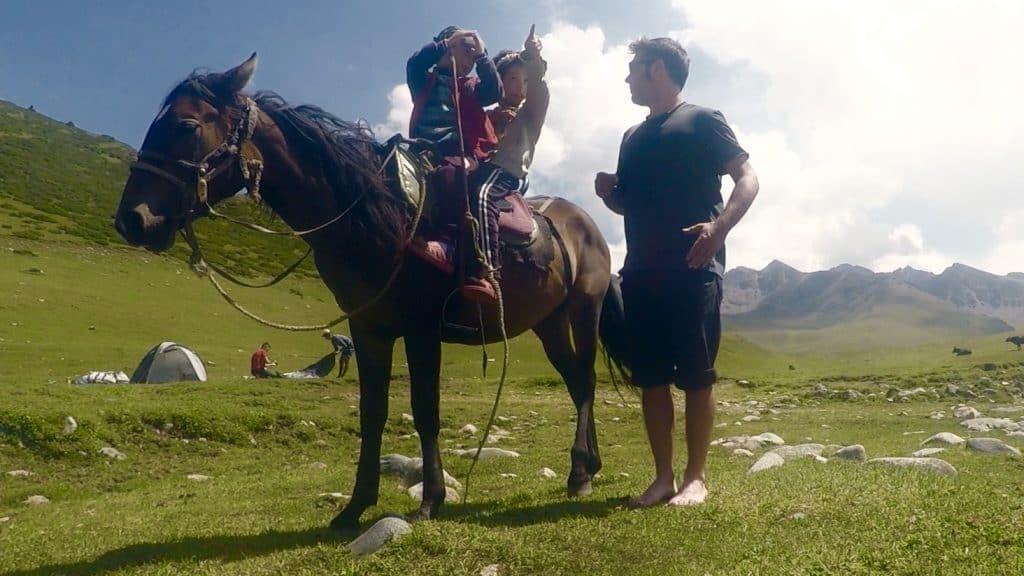 Nomadi Jyrgalan Valley